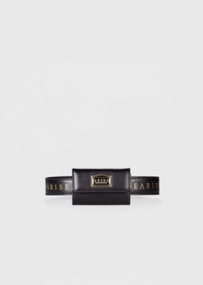 Aries Leather Coin Belt Bag