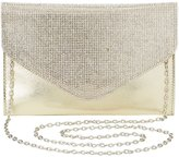 Charlotte Russe Rhinestone Convertible Evelope Clutch