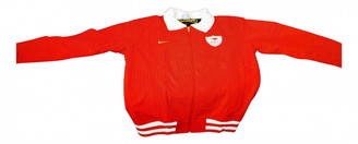 Nike Red Cotton Jackets