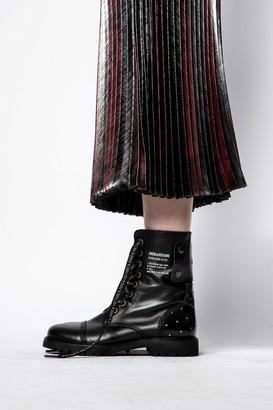 Zadig & Voltaire Joyce Lurex Skirt