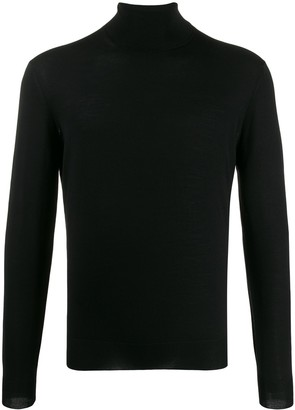 Dell'oglio Ribbed-Knit Roll-Neck Jumper
