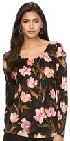 JLO by Jennifer Lopez Women's Floral Tee