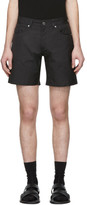 Valentino Black Technical Twill Shorts
