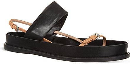 Ann Demeulemeester Slingback chunky sandals