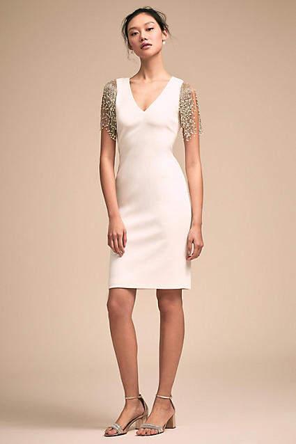 Anthropologie Sophisticate Wedding Guest Dress