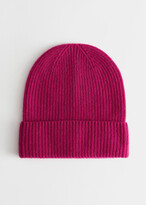 And other stories Soft Cashmere Knit Beanie