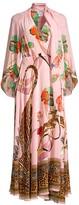 Camilla Mythical Creatures Silk Wrap Dress
