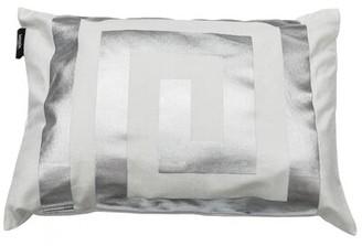 Kensie Mercer41 Arthurs Geometric Lumbar Pillow Cover Mercer41 Color: White Silver
