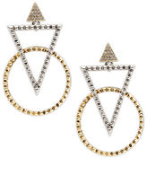 House Of Harlow Geometric Statement Earrings