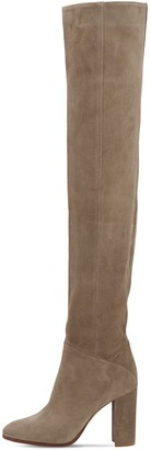 Strategia 90mm Lady Suede Over-The-Knee Boots