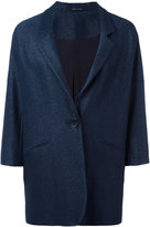 Tagliatore cropped sleeve overcoat