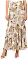 Free People Chelsea Crepe Maxi Skirt