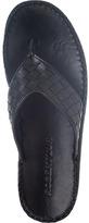 Robert Zur Lilli Thong Sandal Black Leather