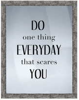 """PTM Images Do One Thing Framed Print - 16.75"""" x 20.75"""""""