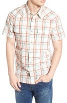 Lucky Brand Men's San Berdu Plaid Cotton Shirt