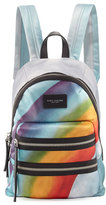 Marc Jacobs Rainbow-Print Nylon Biker Mini Backpack, Multi