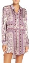 PJ Salvage Women's Scarf Print Nightshirt