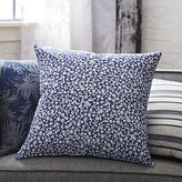 "CB2 The Hill-Side halftone floral print 20"" pillow with down-alternative insert"