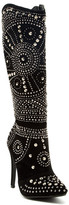Lauren Lorraine Lola Pointy Toe Studded Boot