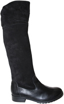 Eric Michael Black Leather Saba Boot