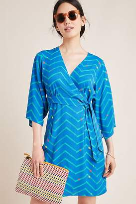 Marcie Printed-Wrap Dress
