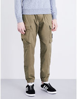 Stone Island Slim-fit Stretch-cotton Cargo Trousers
