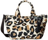 Marc by Marc Jacobs Leopard Embellished Canvas Small Tote