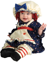 Rubie's Costume Co Ragamuffin Dolly Dress-Up Set - Infant & Toddler