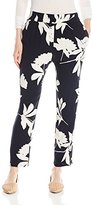 Lucky Brand Women's Printed Vines Pant