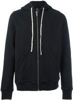 Rick Owens classic zip-up hoodie
