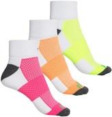 Prince High-Performance Plus Socks - 3-Pack, Quarter Crew (For Women)
