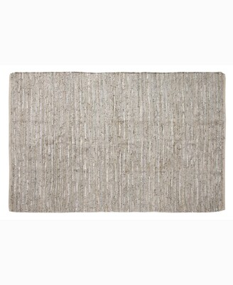 """Home Weavers Avalon Leather Accent 36"""" x 60"""" Rug Bedding"""