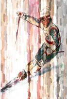 Parvez Taj Faster Canvas Wall Art