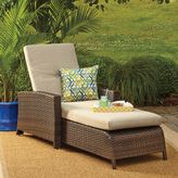 Bed Bath & Beyond Barrington Wicker Padded Chaise Lounge