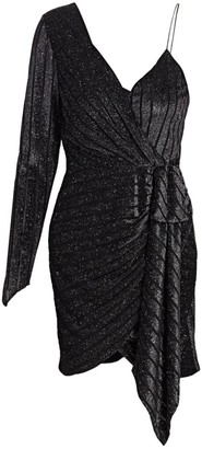 retrofete Carole Velvet Burnout Dress