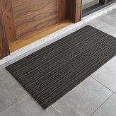 "Crate & Barrel Chilewich ® Steel Striped 24""x48"" Doormat"