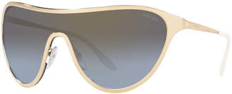 Prada Metal Shield Sunglasses