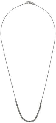 Bottega Veneta Silver Rings Necklace