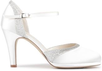 Paradox London Satin 'Almeria' High Heel Court Shoes