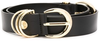 Versace Double Buckle Belt
