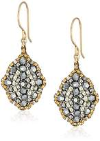 Miguel Ases Small Antique Style Drop Earrings