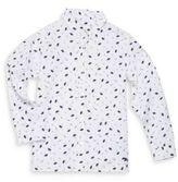 Burberry Little Boy's & Boy's Umbrella-Print Shirt