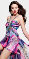 Faviana High Low Prom Dress