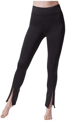Michi Splice Leggings (Black) Women's Casual Pants