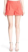 Diane von Furstenberg &Gillian& Stretch Cotton Shorts