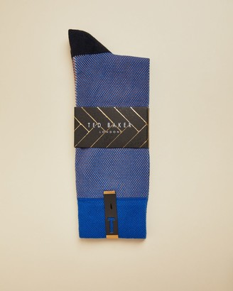 Ted Baker Striped Coloured Socks