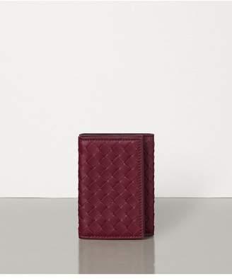 Bottega Veneta Mini Continental Wallet In Intrecciato Nappa
