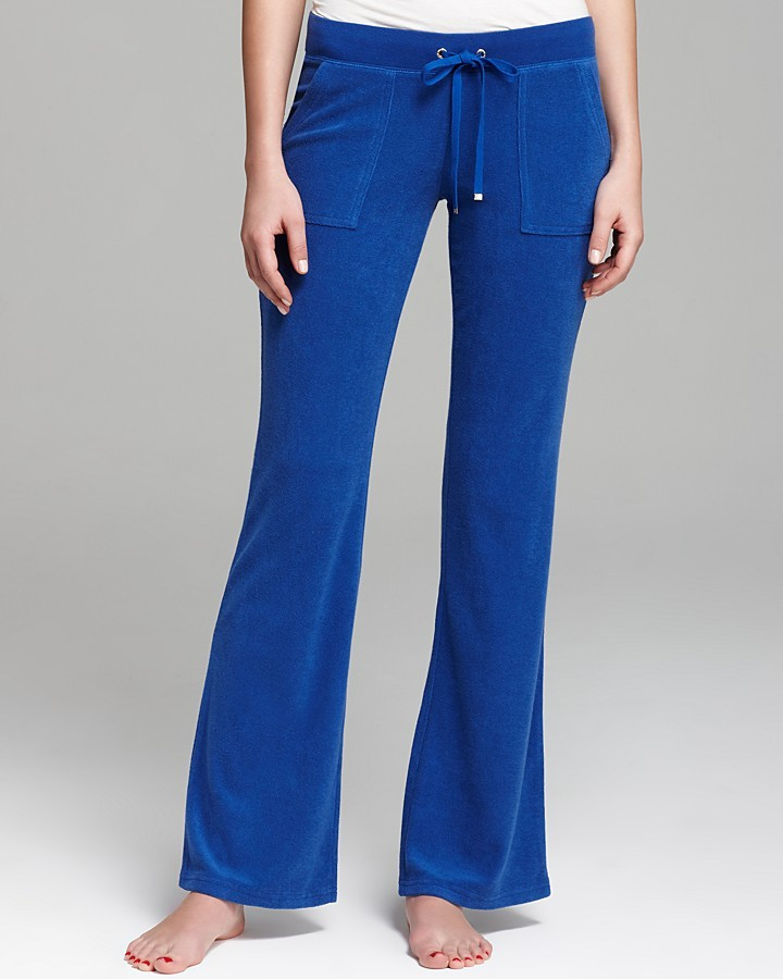 Juicy Couture Pants - Terry Bootcut Basics