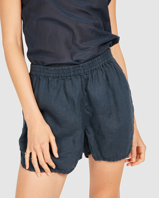 Primness - Women's Navy Shorts - Lin Shorts - Size One Size, 1 at The Iconic