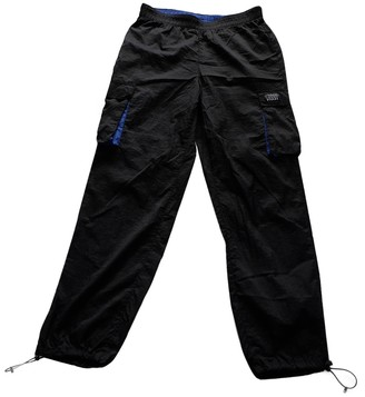 Stussy Black Synthetic Trousers